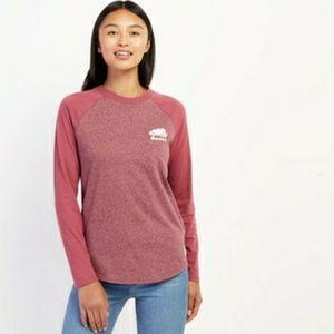 Roots Womens Cooper Beaver Baseball T-Shirt